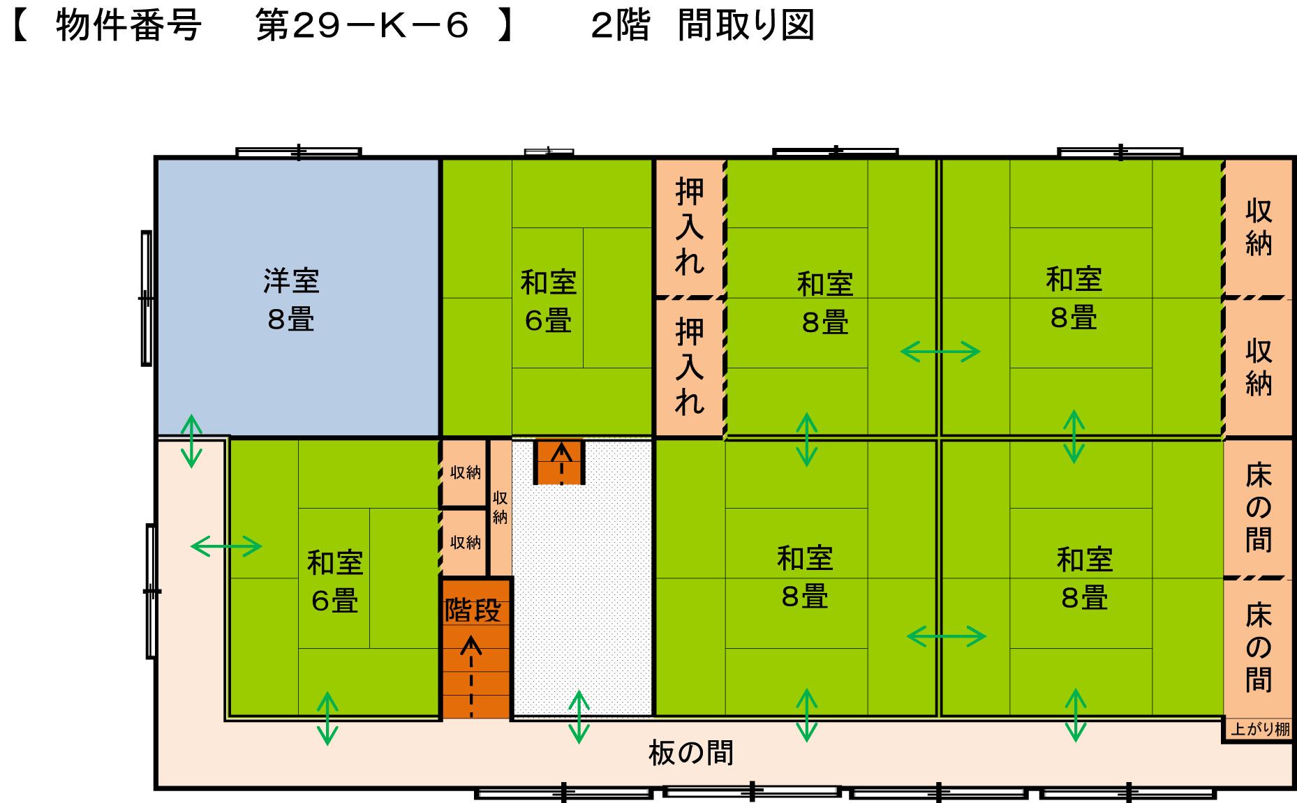 29-K-6 2階間取り図
